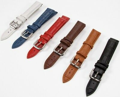 100 X Wholesale Job Lot Of Genuine Leather Watch Strap Mixed Sizes