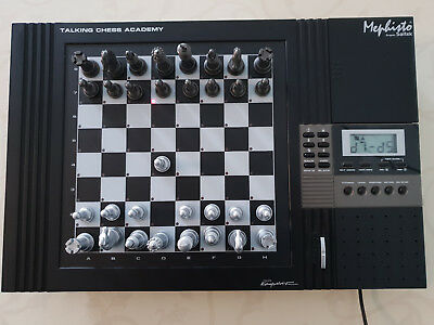 Mephisto Talking Chess Academy 32mhz! Top!