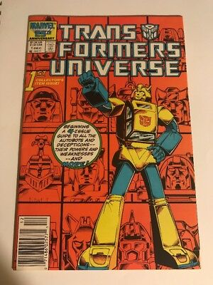 Transformers Universe #1 - 1st Collectors Issue- Marvel Comics