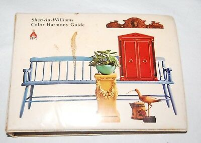 Vintage MCM SHERWIN-WILLIAMS Paint and Color Style Guide 1967 Catalog Book