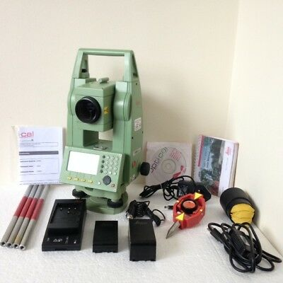 Leica TCR805 Power Totalstation with all accessories