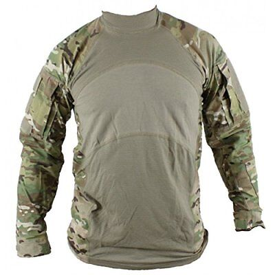 Massif ARMY GI Combat Shirt ACS OCP SMALL Flame Resistant FR Mock Neck NWT