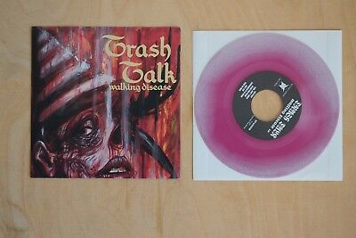 "Trash Talk – Walking Disease 7"" inch   Hardcore Punk LP Thrash Ceremony"