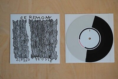 "Ceremony - Scared People 7"" inch   Hardcore Punk LP Trash Talk"
