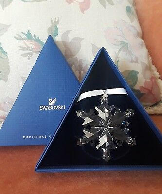 Swarovski Crystal Snowflake Christmas Ornament Annual Edition 2012 NEW IN BOX