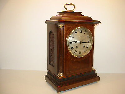ANTIQUE STRIKING BRACKET  CLOCK - Chancellor & Son Dublin