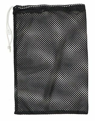 Champion Sports Heavy-Duty, Mesh, Nylon Equipment Bag with drawstring and ID Tag