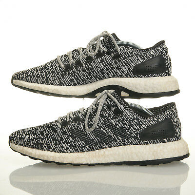 more photos 2dfb5 fd978 Adidas Pure Boost Black White Oreo Running Shoes - Mens Size 10 (BA8890)