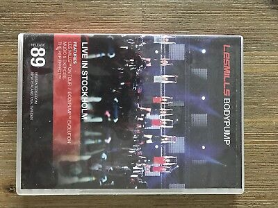 les mills dvd Body Pump Release 89 live in Stockholm