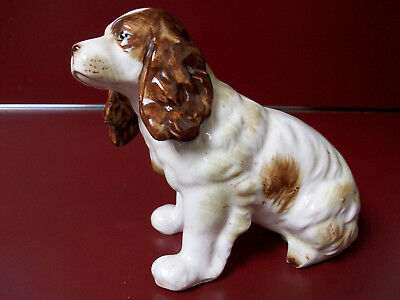 Vtg English Springer Spaniel Figurine