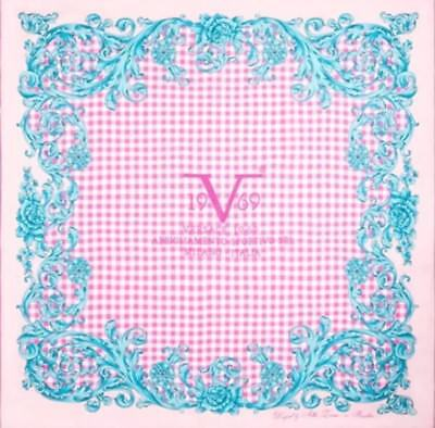 NEW   VERSACE SCARF Baroque LADIES DESIGNER 90X90 rrp £88 - £15.00 ... 08071a941d4