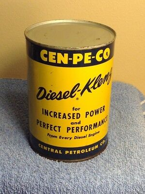 Vintage Cen-Pe-Co Diesel - Klenz  Increased Power & Perfect Performance