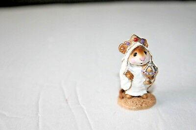 Wee Forest Folk WISE MAN men NATIVITY 1985 mice m121 mouse WFF CHRISTMAS