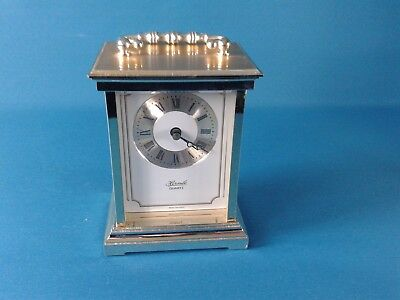Hermle Plastic Brass Carriage Quartz Clock