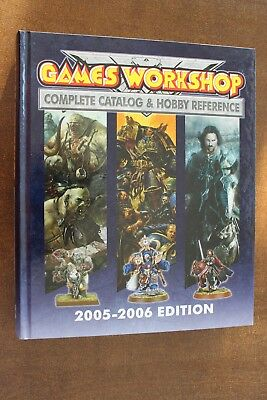 Games Workshop Complete Catalogue 2005-06, extrem dick, Wälzer, Rarität