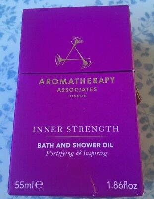 AROMATHERAPHY Associates Inner Strength Bath & Shower Oil 55ml BNIB