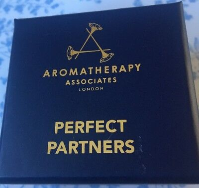 AROMATHERAPY Associates Perfect Partners Bath & Shower Oil X 2 New In Box