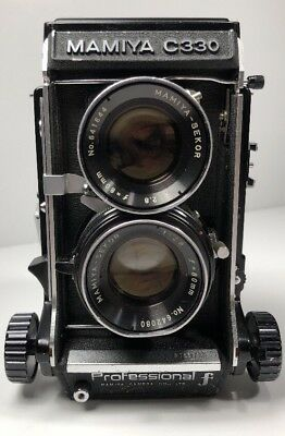 Mamiya C330 Professional F Film Camera Not Tested