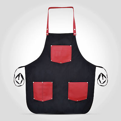 Professional Hairdressing Barber Apron Cape Barber Hairstylist BLACK