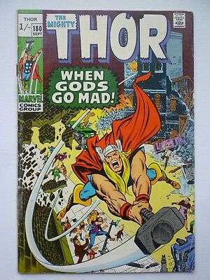 The Mighty Thor 180 1970 Marvel Comics