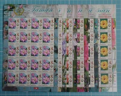 Malaysia 2016 - State Definitive Series - Perak - Complete Sheets SG 212/17