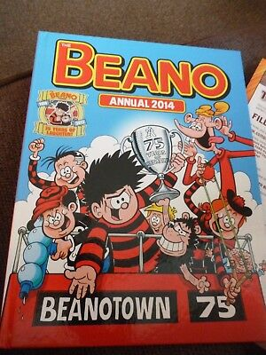 The Beano Annual 2014 75th Anniversary Brand New Pristine Condition never opened