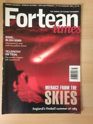 Fortean Times Magazine Feb 2001 FT 143