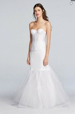 A-Line Silhouette Slip from David's Bridal - Size M - $80 Original Cost