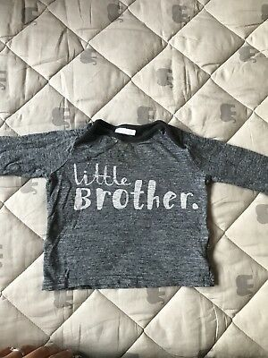 Next 3-6 Months Long Sleeve Brother Top Boys Baby