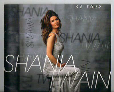 Shania Twain 1998 tour book