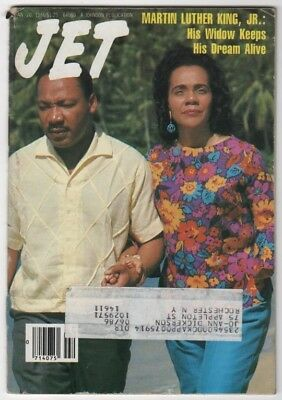 Jet Magazine - 1986 - Martin Luther King, Jr. - Black Americana