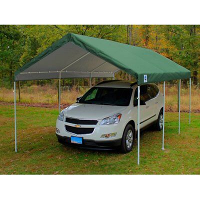 King Canopy 10 x 20 ft. Drawsting Carport Cover  sc 1 st  PicClick & CARPORT CANOPY ROOF Top Replacement Cover for Costco Shelter 10u0027 x ...