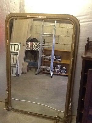 Large (possibly) Victorian Mantle Mirror
