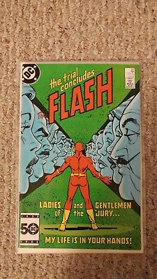 The Flash Vol. 1. #347. VF/VF+. 8.0 - 8.5. The Trial of the Flash.