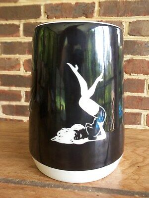 Vintage 1950/60s PLAYBOY Ceramic Beer Stein Mug FEMLIN Risque  HMH Pub Co