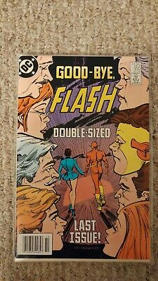 The Flash Vol. 1. #350. VF/NM. 9.0. Double-Sized Last Issue.