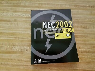 NEW 2002 National Electrical Code, NFPA 70