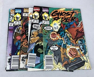 Lot Of 7 Ghost Rider (1990 series) Comic Books Marvel
