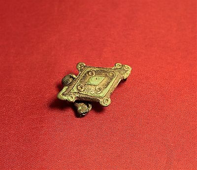 Ancient Roman Fibula or Brooch, 2. Century