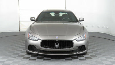 Maserati Ghibli 4dr Sedan 2014 Maserati Ghibli, Silver/Black, 1 Owner, Fresh 4th Year Service