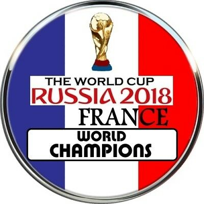 World Cup Russia 2018 Football FRANCE PIN BADGE CHAMPIONS WINNERS GAGNANTS MONDE