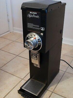EXCELLENT CONDITION!!! Bunn G3 HD Black 3lb Commercial Coffee Grinder
