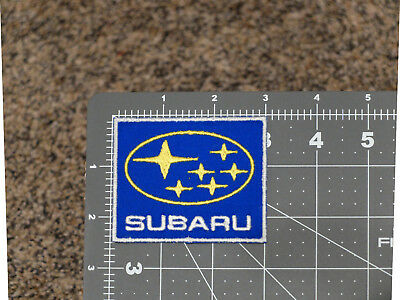 Subaru Name Logo Blue Badge Car Motorcycle Biker Racing Mechanic Trucker Patch