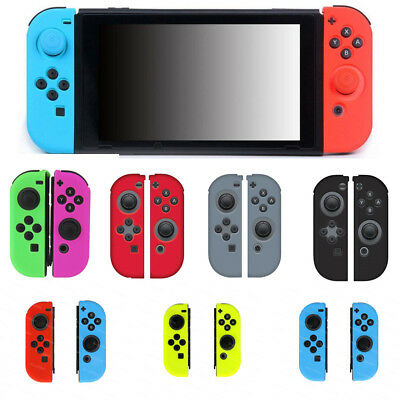 new style 28176 36a77 NEW NINTENDO SWITCH Skin Guard Silicone Case Joy-Con For Soft New Cover  Skins