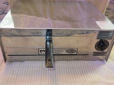Pizza Pal WISCO Electric Pizza Stainless Model 412-8 Tombstone, Tony's