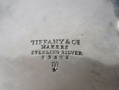 Tiffany Sterling Silver Art Deco Bowl. 6.3 Troy Oz. Fully Signed. 1930's