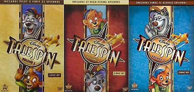 TaleSpin: Disney Complete Series Volumes 1-3 DVD Bundle NEW Free Ship