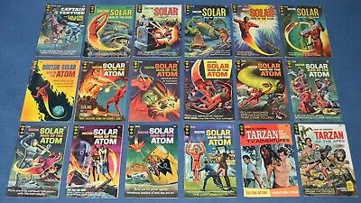 Silver Age Gold Key Low Grade Lot Of 108 ~ Magnus, Solar, Phantom, Lost In Space