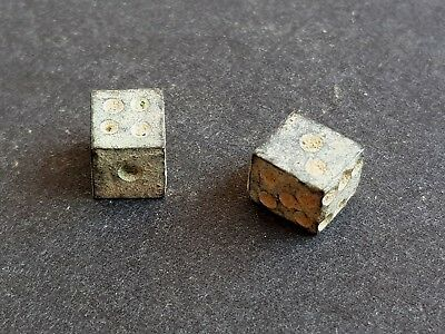 40. Roman Funeral Bronze Dice - Appr. Size - 6x6mm