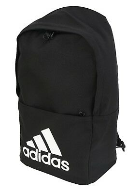 bc35a9a77917 Adidas Classic BP Backpack Bags Sports Black Training Casual GYM Bag CF9008